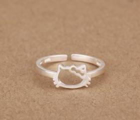 925 silver cute ring..